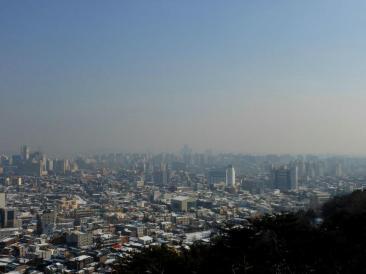 View of Suwon!
