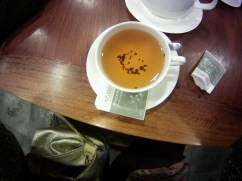 Black tea at the Shanghai Museum