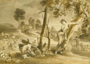 Romulus and Remus Giovanni David (Gabella 1743 - Genoa 1790), The Discovery of