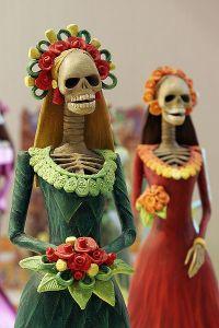 halloween day of the dead skel