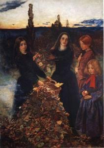Autumn Leaves' by Sir John Everett Millais.