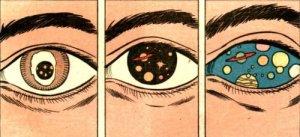 eye cosmos cartoon!