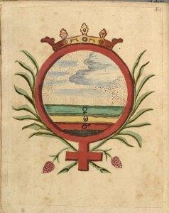 elements  Clavis Artis, Alchemical Symbols from Zoroaster.