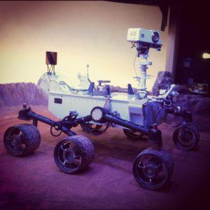 Maquette Curiosity à la Cité de l'Espace