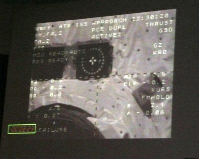 Le docking de l'ATV est imminent