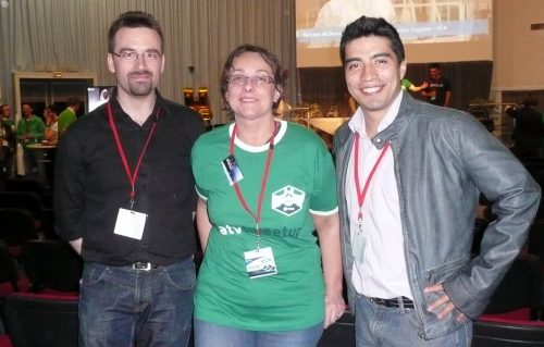 En compagnie de Romain Charles et de Diego Urbina de Mars 500