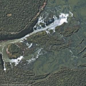 Les chutes d'Iguazu par Pléiades