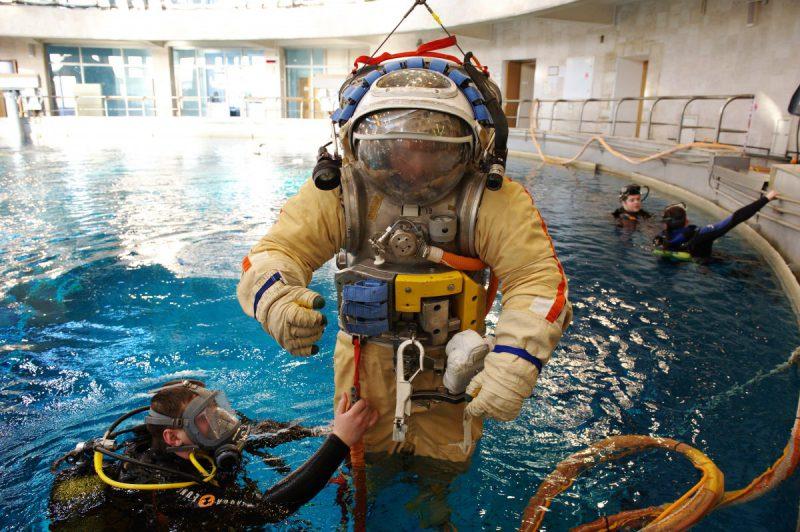 Thomas_Pesquet_spacewalk_training