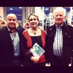 avec Patrick Baudry et Jean-LoupChrétien