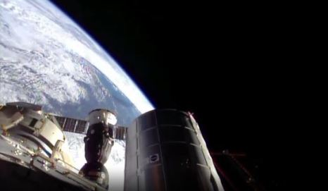 capture d'écran de NASA TV