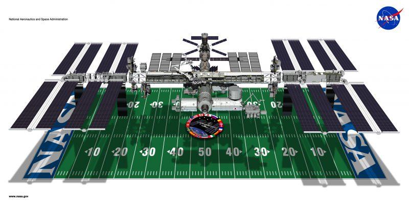 ISS football field