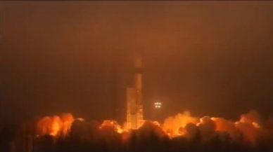 Le lancement de Swarm (source : ESA TV)