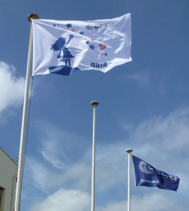le drapeau de GAIA (source ESA)