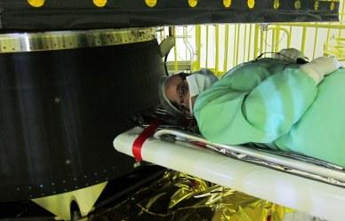 inspection des panneaux solaires fixes