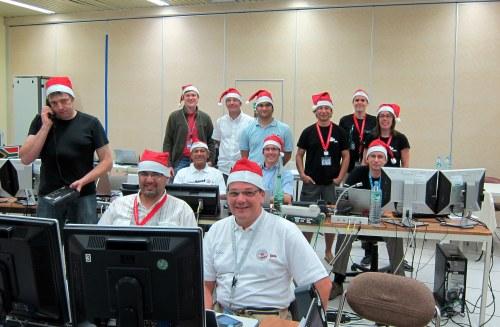 La première équipe de la nuit du compte à rebours : Noël approche !