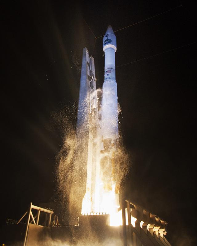 Décollage l'Atlas V emportant TDRS-L (source United Launch Alliance)