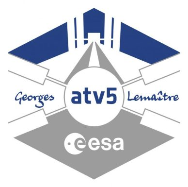 le logo de l'ATV 5 (source ESA)