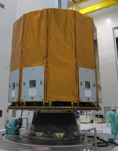 Gaia est prêt à être transporté vers le S3