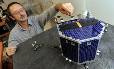 Philippe Gaudon, chef de projet CNES sur Rosetta (Photo DDM, Michel Viala)