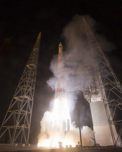 Décollage d'une fusée Delta IV (Source ULA)