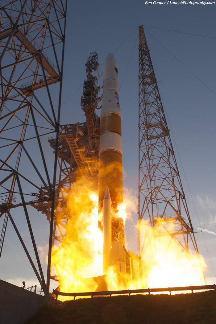 Lancement Delta IV - GPS IIF-6 (source Ben Cooper/launchphotography.com)