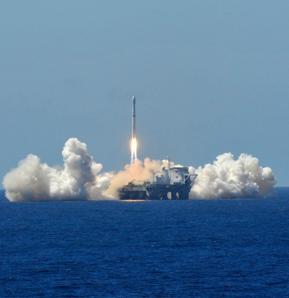 Lancement d'Eutelsat3B le 26/05/14 par Zenit 3SL (source Sea Launch)
