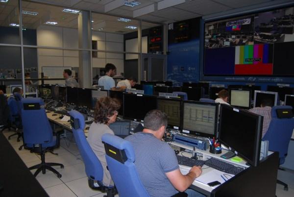 L'ATV-CC en pleine répétition finale du lancement (source ESA blog)