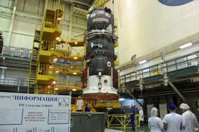 progress M24-M en préparation à Baïkonour (Photo: RSC Energia)