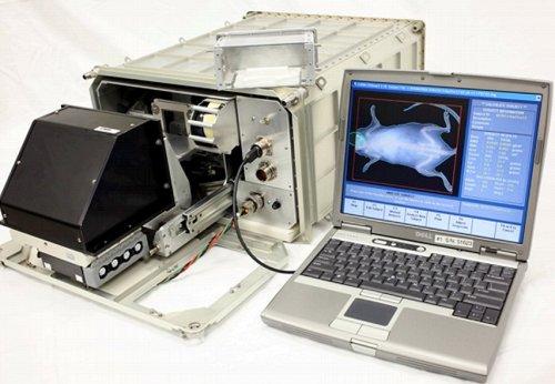 Le densitomètre osseux développé par Techshot, Inc. permettra de tester des rayons X pour les études de recherche à bord de la Station spatiale internationale.  Crédit Image: ACERS