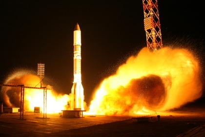 Lancement de Proton / Olymp le 28/09/14 (source Roscomos)