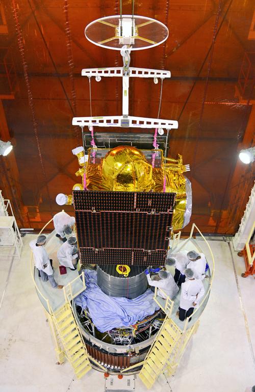 Le satellite IRNSS-1C (source ISRO)