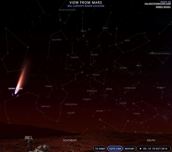 capture d'écran de solarsystemescope