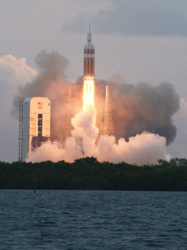 Décollage de Delta IV Heavy /Orion le 5 décembre 2014 (Photo: Craig Bailey/FLORIDA TODAY)