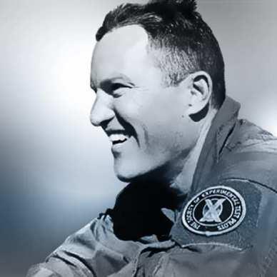Michael Alsbury, 39 ans, est décédé durant le crash du vol d'essai du SpaceShipTwo du 31/10/14 (source Virgin Galactic)
