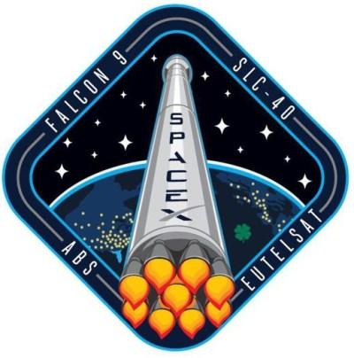 logo lancement Eutelsat 115 West B & ABS 3A