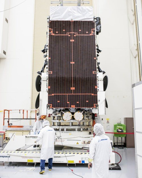 Le satellite WGS7 (© Boeing Space Systems)