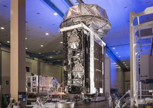 Le satellite de communications géostationnaire MUOS 4 (Photo: Lockheed Martin)