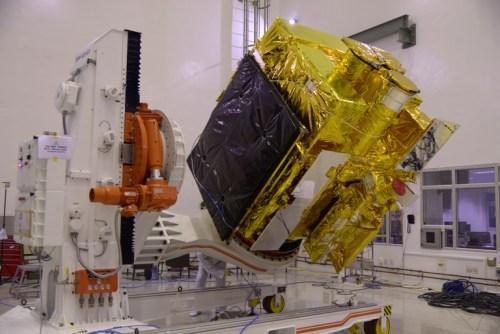 Le télescope spatial indien Astrosat (source ISRO)