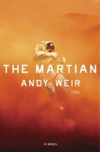 "Couverture du livre originale ""The Martian"""