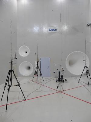 Moyen d'essai acoustique (Crédit : Airbus Defence and Space Ltd)