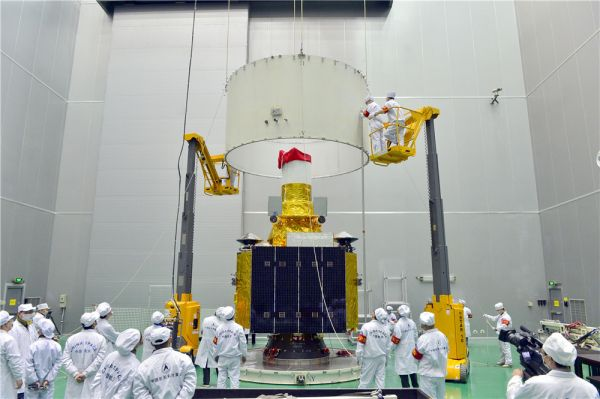 Le satellite d'observation géostationnaire Gaofen 4 (Photo CAST)