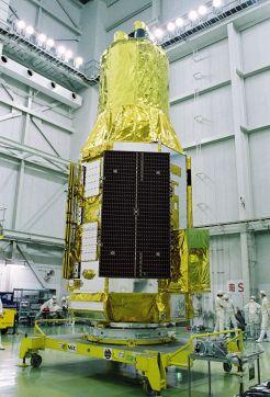 L'observatoire spatial Astro-H ou Hitomi (source Jaxa)