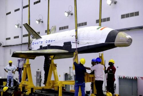 La mini-navette RLV-TD (credit ISRO)