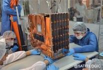 Nusat-1, l'un des 2 satellites de Satellogic lancés le 31/05/2016