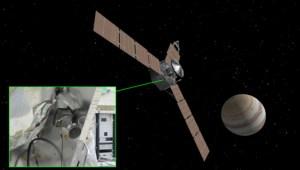 emplacement de la caméra Junocam sur la sonde Juno (credit NASA / JPL / Eyes on the Solar System / Emily Lakdawalla)