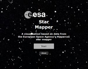 Acceuil de Star Mapper (capture d'écran)
