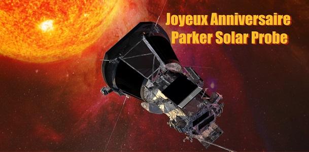 Joyeux premier anniversaire Parker Solar Probe 🎂
