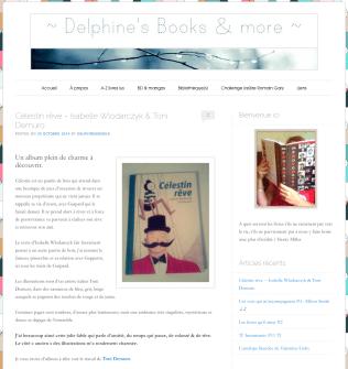 Octobre 2014 Célestin rêve http://delphinesbooksandmore.fr/celestin-reve/