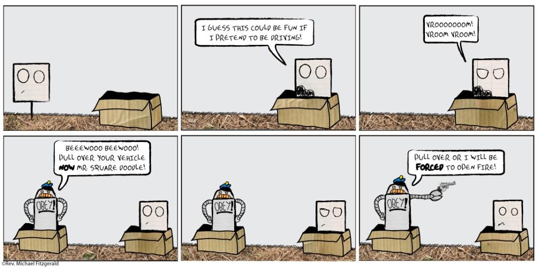 Mr. Square Finds a Box