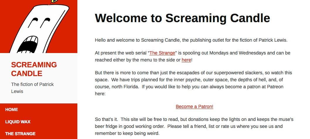 The Strange Web Serial